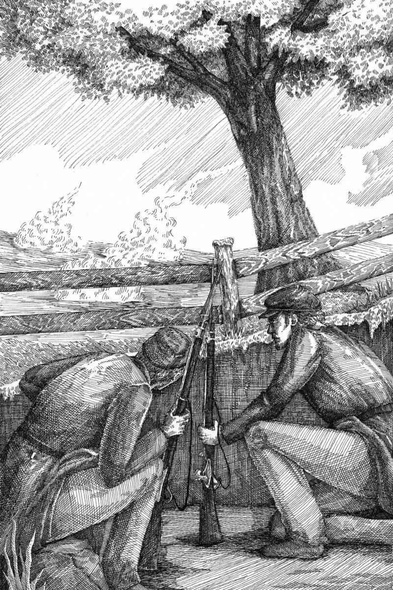 At Chancellorsville